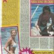 Alessia Marcuzzi in topless a 23 anni: le foto di Novella 2000 1