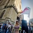 Lisa Torrisi, pornostar, alla Festa dei Giovani Democratici a Napoli 1