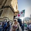 Lisa Torrisi, pornostar, alla Festa dei Giovani Democratici a Napoli 12