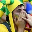 Brasile Germania 1-7: tifosi umiliati, lacrime sul campo e sugli spalti13