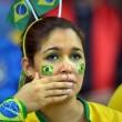 Brasile Germania 1-7: tifosi umiliati, lacrime sul campo e sugli spalti09