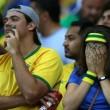 Brasile Germania 1-7: tifosi umiliati, lacrime sul campo e sugli spalti29