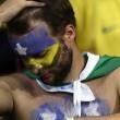 Brasile Germania 1-7: tifosi umiliati, lacrime sul campo e sugli spalti01