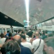 Metro A Roma, palo cade sul treno 2