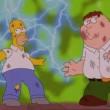 Simpson-Griffin, puntata speciale insieme. Rissa tra Homer e Peter VIDEO FOTO 1