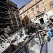 Fontana di Trevi, restauri: aperta al pubblico la passerella 023