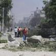 Gaza, 100 palestinesi uccisi in un giorno solo06