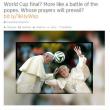 Germania Argentina, la finale dei Papi: gli sfottò su Twitter e Facebook04