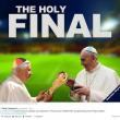 Germania Argentina, la finale dei Papi: gli sfottò su Twitter e Facebook01