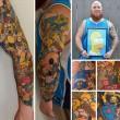 Lee Weir ha 41 tatuaggi dei Simpson04