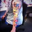 Lee Weir ha 41 tatuaggi dei Simpson02