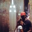 Mario Balotelli e Fanny Neguesha visitano l'Empire State Buiding5