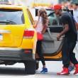 Mario Balotelli e Fanny Neguesha visitano l'Empire State Buiding01