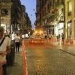 Napoli, cade pezzo cornicione Galleria Umberto10