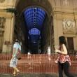 Napoli, cade pezzo cornicione Galleria Umberto02