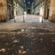 Napoli, cade pezzo cornicione Galleria Umberto04