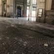 Napoli, cade pezzo cornicione Galleria Umberto7