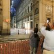 Napoli, cade pezzo cornicione Galleria Umberto8