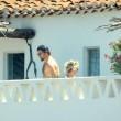 Pamela Anderson in Sardegna di nuovo col marito Rick Salomon15