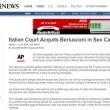 Berlusconi assolto, la notizia sui media internazionali 14