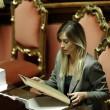 """Riforma Senato, si vota. Maria Elena Boschi vs M5s: """"Avete allucinazioni"""" FOTO02"""