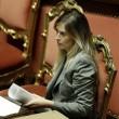 """Riforma Senato, si vota. Maria Elena Boschi vs M5s: """"Avete allucinazioni"""" FOTO01"""