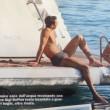 """Ilaria D'Amico e Gigi Buffon: baci """"bollenti"""" su uno yacht in Grecia 14"""
