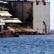 Costa Concordia verso Genova martedì 22. Prua a galla, curiosi via FOTO-VIDEO 9