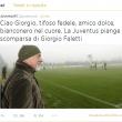 Il tweet della Juventus per Faletti