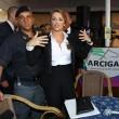 Francesca Pascale a Napoli per ritirare la tessera Arcigay20