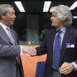 """Ue, Schulz presidente. Grillo attacca: """"Stop soldi a Italia, vanno alla mafia04"""