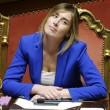 """Dagospia: """"Maria Elena Boschi sempre in bagno per riferire a Renzi"""" FOTO 5"""