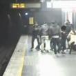 Milano, violenza dei latinos alla stazione del metrò (video): 13 arresti