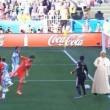 """Papa Francesco salva l'Argentina contro la Svizzera: """"Il palo di Dio"""" (FOTO)"""