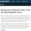 Berlusconi assolto, la notizia sui media internazionali 05