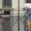 Maltempo Roma: violento nubifragio allaga sottovia7