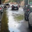 Maltempo Roma: violento nubifragio allaga sottovia15
