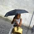 Maltempo Roma: violento nubifragio allaga sottovia09