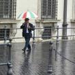 Maltempo Roma: violento nubifragio allaga sottovia08