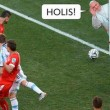 Papa Francesco salva l'Argentina contro la Svizzera 2