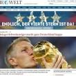 Germania campione, la stampa tedesca celebra il trionfo01
