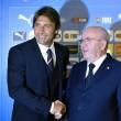 Antonio Conte nuovo ct dell'Italia: le foto della firma