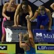 Europei nuoto: una super Federica Pellegrini trascina 4x200 sl all'oro06