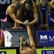 Europei nuoto: una super Federica Pellegrini trascina 4x200 sl all'oro05