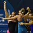 Europei nuoto: una super Federica Pellegrini trascina 4x200 sl all'oro03