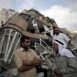 Gaza, il crollo del palazzo di 12 piani abbattuto dai missili israeliani09