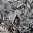 Gaza, il crollo del palazzo di 12 piani abbattuto dai missili israeliani08