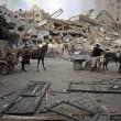 Gaza, il crollo del palazzo di 12 piani abbattuto dai missili israeliani5