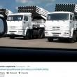 Ucraina, ironia su Twitter: convoglio di aiuti russi come cavalli di Troia FOTO4