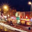 Manchester, Inghilterra: teste di gatto in sacco zona kebab e ristoranti indiani